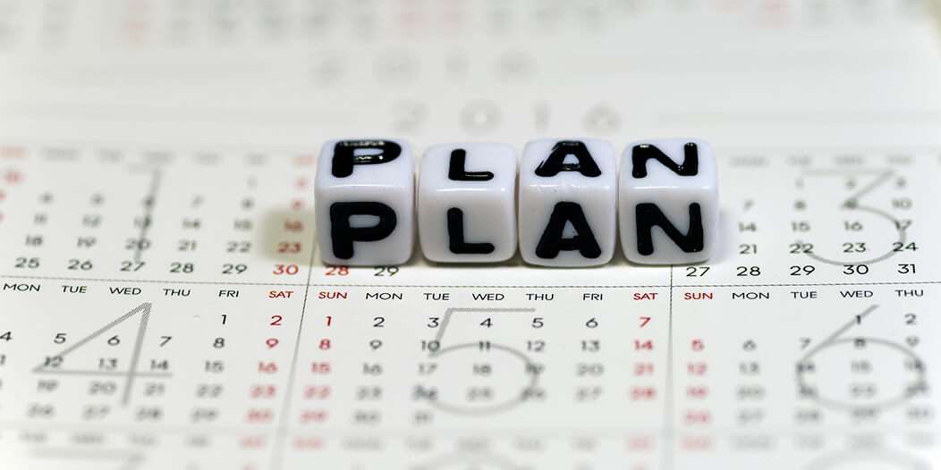 計画性を鍛える。